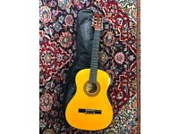 Palma Student Classical Guitars Comes with Case Great Condition