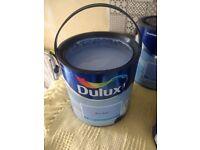 A new opened tin of Dulux Matt Emulsion