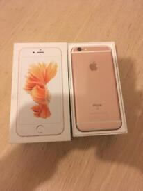 IPhone 6s rose gold as new condition 32 gb