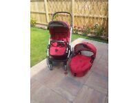 Selling Mutsy Evo pram/stroller bundle! £100 ONO!