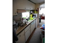 sited stattic holiday caravan with decking on a park dean resort nr great yarmouth