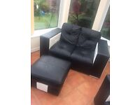 3piece Italian Leather sofa set