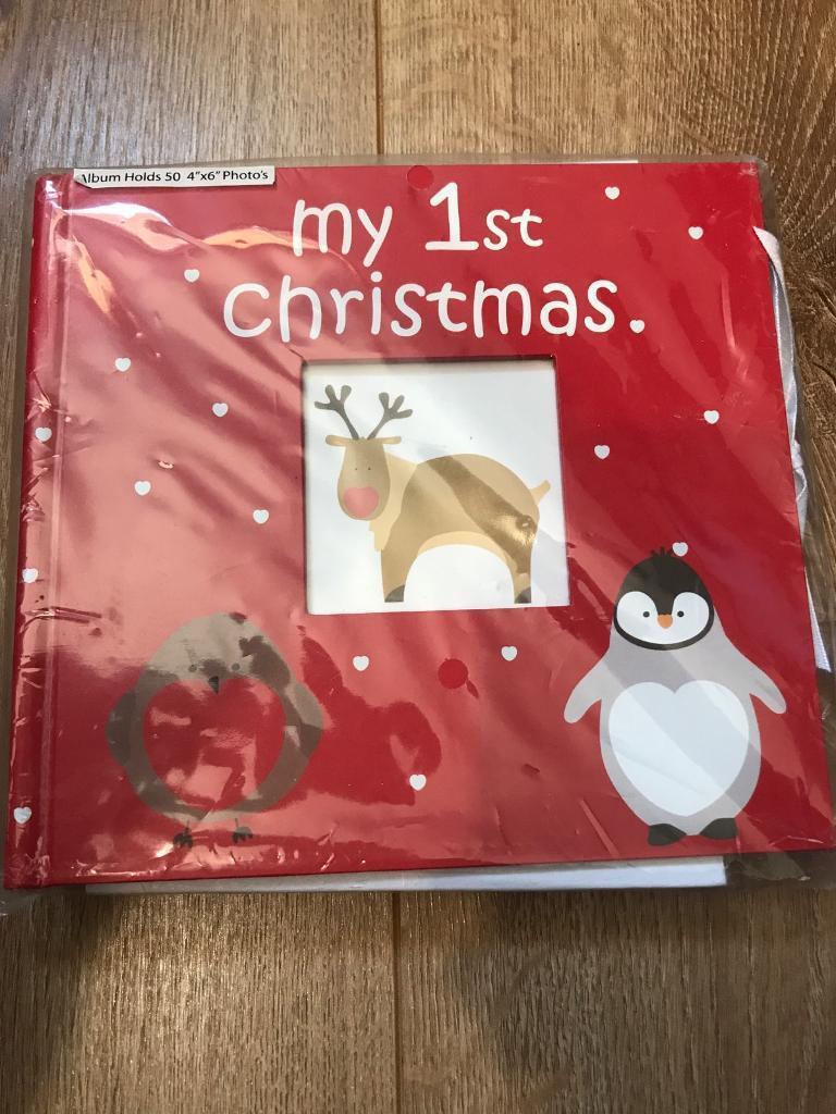photo album baby s first christmas in kilwinning north ayrshire