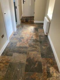 Ceramic floor tiles 'Natural slate'