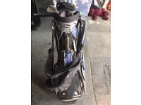Wilson golf bag with mizuno clubs