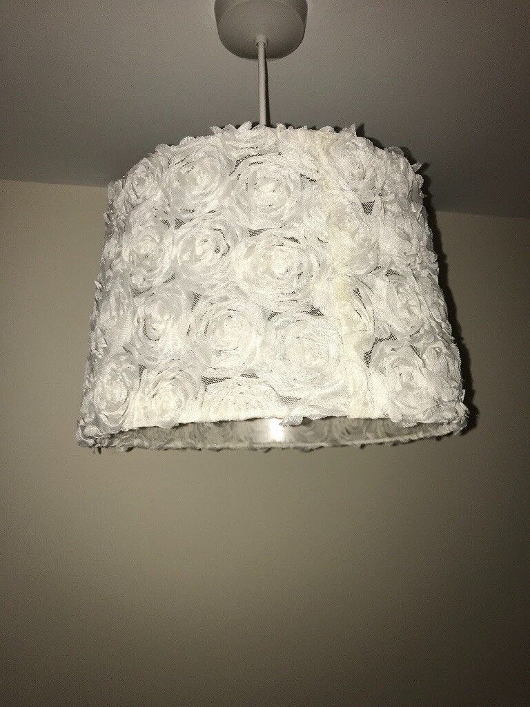 X3 rose flower light shades in rossendale lancashire gumtree x3 rose flower light shades arubaitofo Gallery