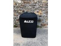 "PA rig Altos 15"" tops 18"" bass bins"