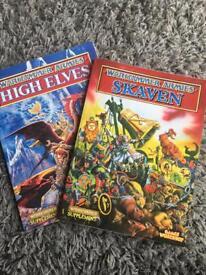 Warhammer Armies books