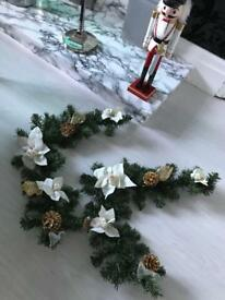 Beautiful B&Q garland frames good condition- Christmas decorations