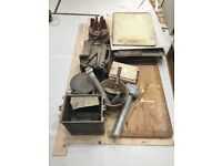 2 Oven Gas Aga, cream and chrome, 1986, professionally dismantled, ready to collect
