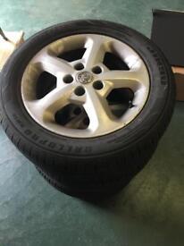 Vauxhall wheels 5 stud