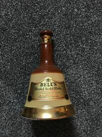 Bells whisky bell decanter