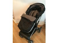 Mothercare Roam Travel System Pushchair & Car Seat (BLACK)