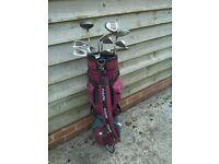 Spalding Pulsar Set of Golf Clubs