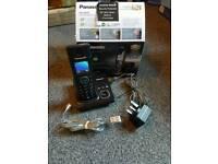 Panasonic single cordless home phone set