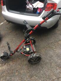 Powerbug pro sport electric golf trolley