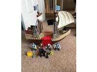 ELC pirate boat and accessories