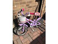 """Apollo Cherry Lane Kids Bike - 16"""" Wheel"""