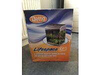 Lifespace 34 litre aquarium tank