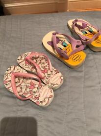 Size 25/26 EU Havaianas flip flops