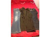 Ladies jeans bundle size 16