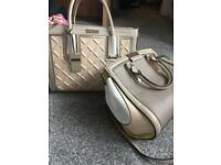 River island bags x2 used condition