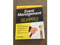 New - Event Management books - various