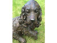 Spaniel Ornament Home Garden Resin Decoration Dog *****NEW ITEM*****