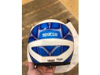 Sparco race/track day helmet