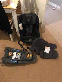 Joie I anchor car seat and isofix base