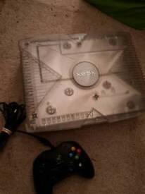 Crystal original Xbox console