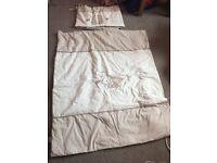 2 sets of cot bed bedding