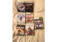 Bundle of xbox360 games
