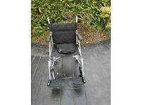 Enigma Lightweight transport wheelchair