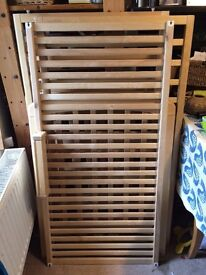 REDUCED John Lewis Anna Cot very good condition