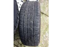 "Fox Alloy wheels 17"" inch Peugeot 5008 308 407 508 605 607 expert Jaguar s-type x- type alloys wheel"