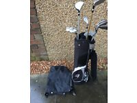 Children's golf club set with bag