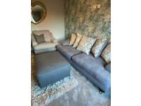Sofology sofa, chair and footstool