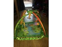 Fisher price lights and sounds rainforest playmat