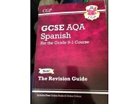 GCSE Spanish revision and workbook