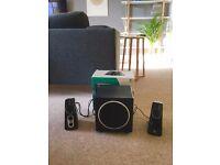 Logitech Z523 2.1 Speaker System & Subwoofer (Computer / Laptop / Phone / Tablet Speakers)