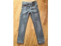 Next girls two pairs of jeans age 7 years