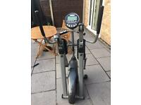 Horizon electric cross trainer