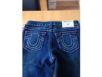Girls true religion slim fit jeans