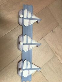 Nautical Themed Clothes Hook plaque