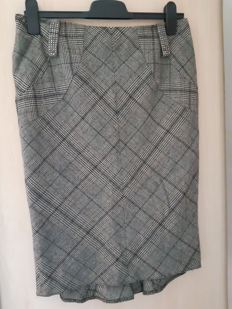 97aadfe52 River Island Denim Midi Pencil Skirt