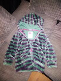 Mini boden fleece jacket 5-6yr