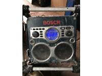 Bosch workshop or site radio