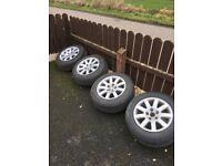 Volkswagen alloy wheels