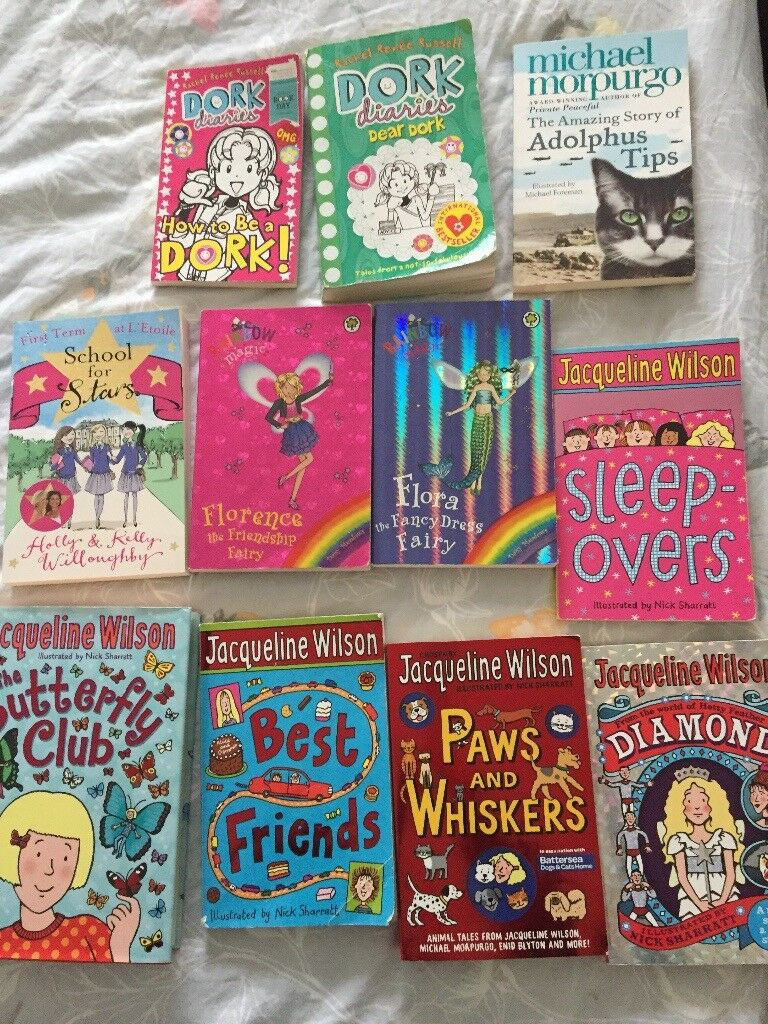 Girls Books Jacqueline Wilson/Dork Diaries etc